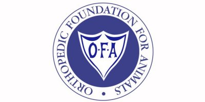 Orthopedic Foundation for Animals logo for article.