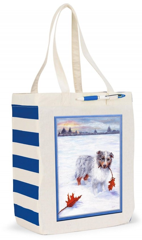 Chelsea Market Tote Puppy Pic