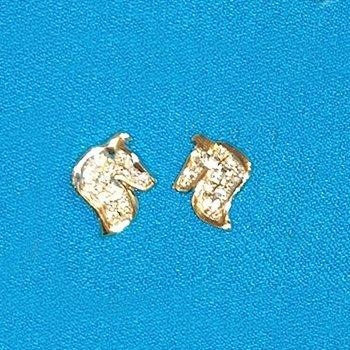collie earrings