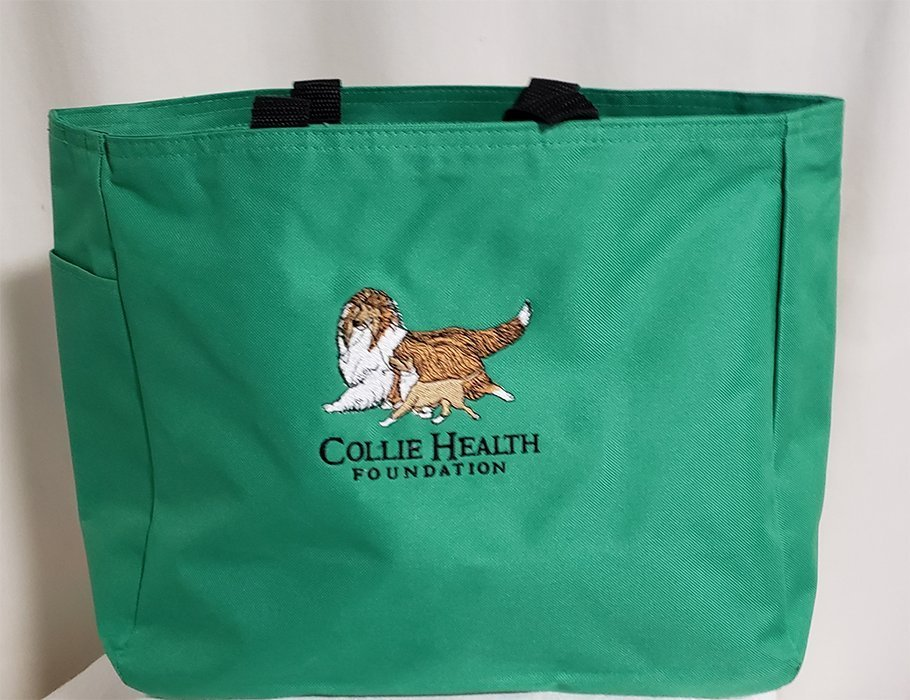 CHF Canvas Tote Green