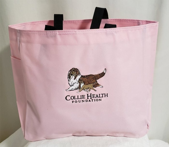 CHF Canvas Tote Pink