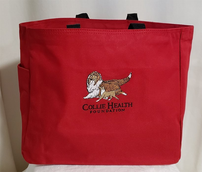 CHF Canvas Tote Red