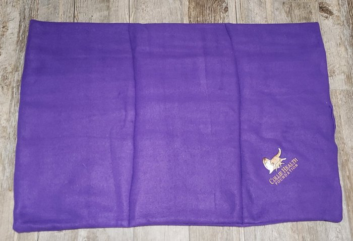 Fleece Crate Mat Purple