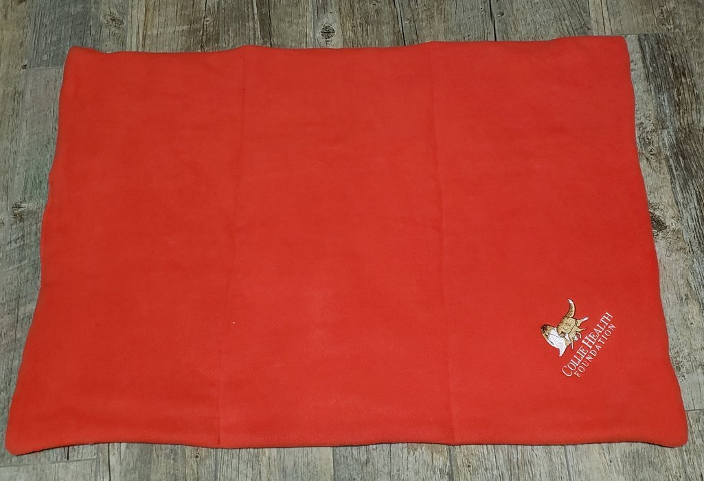 Fleece Crate Mat Red