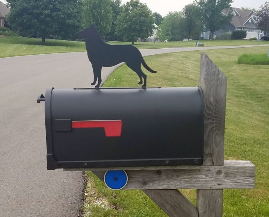mailbox topper